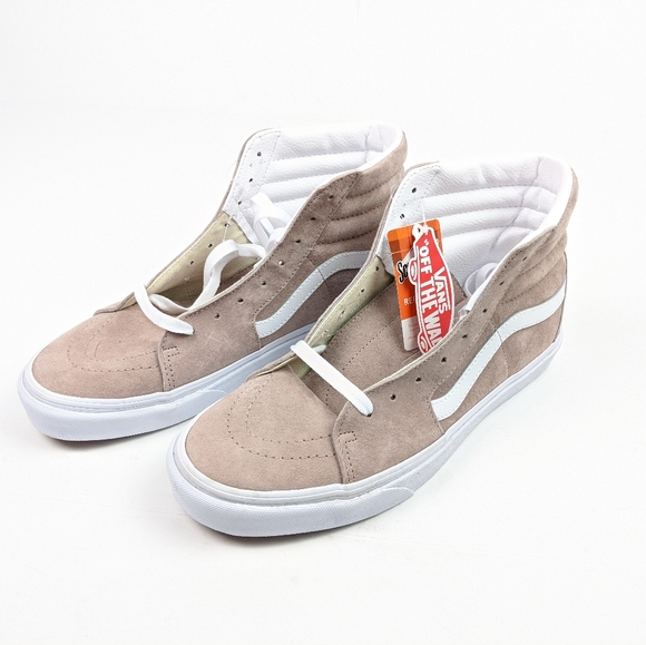 Vans Shoes | Nwt Off The Wall Tan High